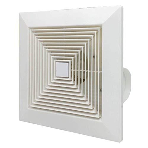 Ventilador de ventilación doméstico 12 Pulgadas De Techo con Conductos De Escape del Ventilador, Silencioso Y Bajo Consumo Energético, Adecuado For El Baño/Sala De Estar/Oficina LITING