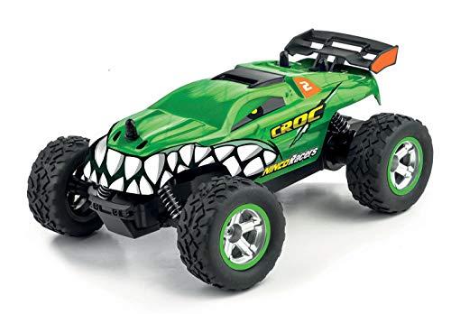 Ninco (NH93122) 8 NincoRacers-Croc. Monster Truck teledirigido con gran capacidad de giro. 2.4GHz Medidas: 21 cm x 18 cm x 8,5 cm, color verde, 43489