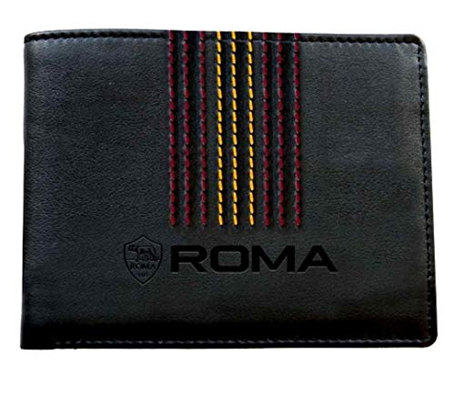 AS Roma Original Geldbörse offizielle Tasche Kartenhalter Enzo Castellano Portafro1309