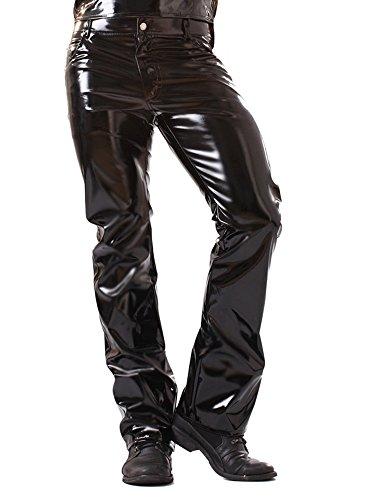 Skin Two Clothing Klassisch geschnittene PVC-Jeans Größe - 101cm
