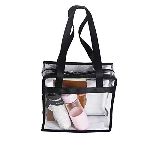 Enkrio Handtasche Damen Umhängetasche Transparent Sporttasche Damen Strandtasche Damen Wasserdichte Tasche Für Reisen, Wandern, Arbeiten