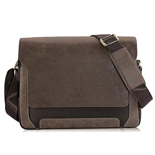 Canvas Handtaschen Freizeit Messenger Bag Modern Fashion Studententasche Arbeiten Tasche Umhängetasche für Frauen und Herren