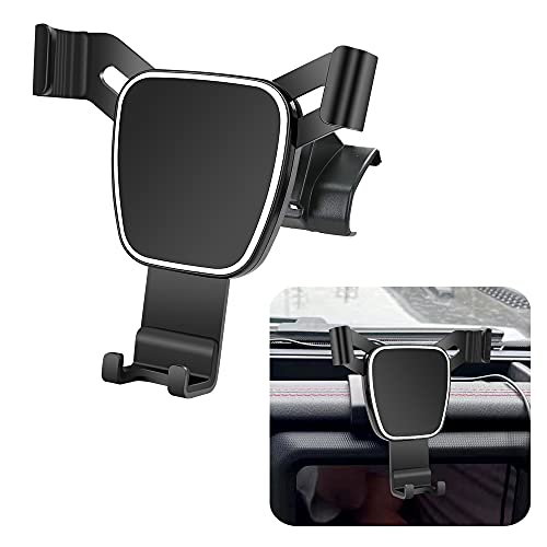 LUNQIN Car Phone Holder for 2018-2021 Jeep Wrangler Auto Accessories Navigation Bracket Interior Decoration Mobile Cell…