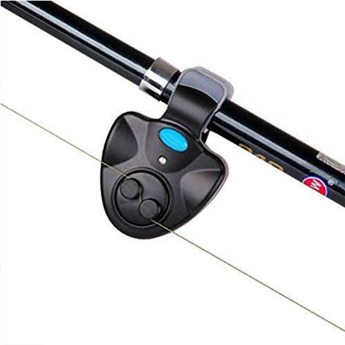 OFKPO Detector de Picada Pesca, Alarma de Picada de LED para Caña de Pescar