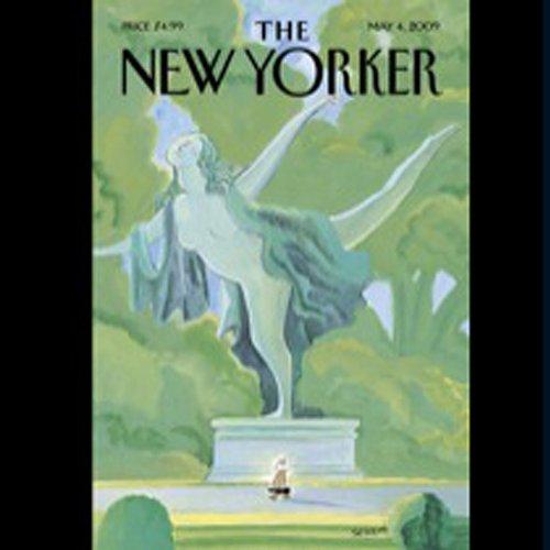 The New Yorker, May 4th, 2009 (Hendrik Hertzberg, Philip Gourevitch, Gail Hareven) cover art