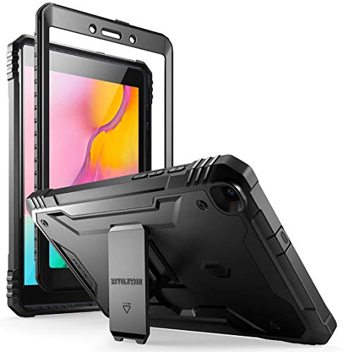 Galaxy Tab A 8.0 2019 Rugged Case with Kickstand,SM-T290 SM-T295, Poetic Full Body Shockproof Cover,...