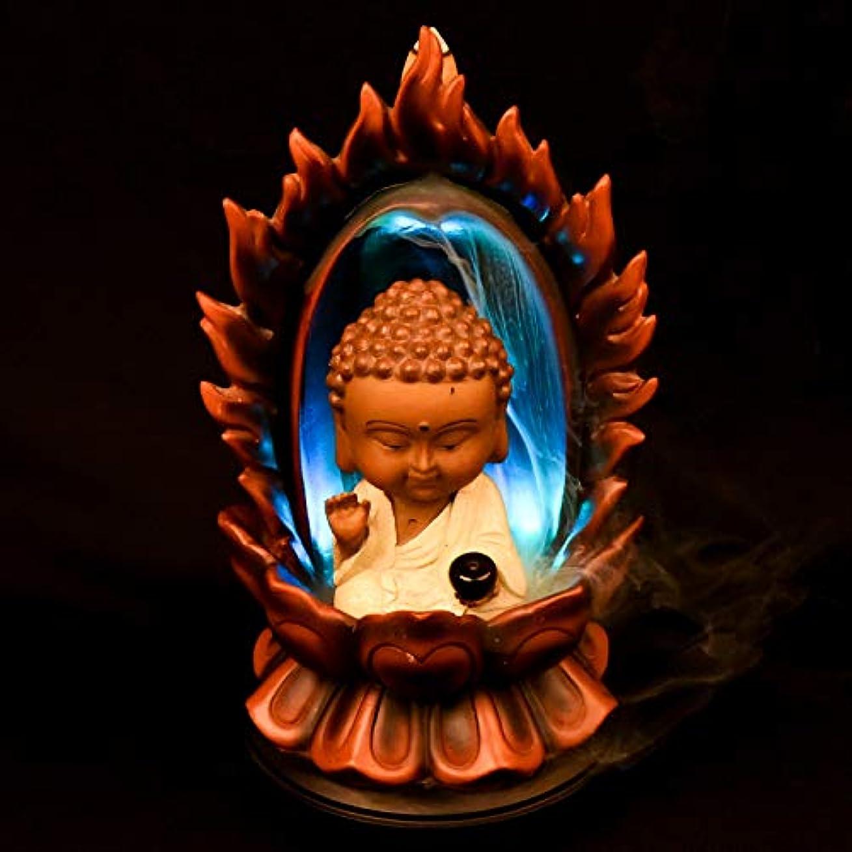 褒賞成分加速するPHILOGOD 樹脂逆流香 パーソナリティスタイリング仏壇用香炉/香立て お香 ホルダー ホームデコレーション