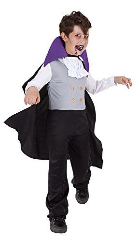 Rubies - Disfraz de Drácula para niños, 8-10 años (12508-L)