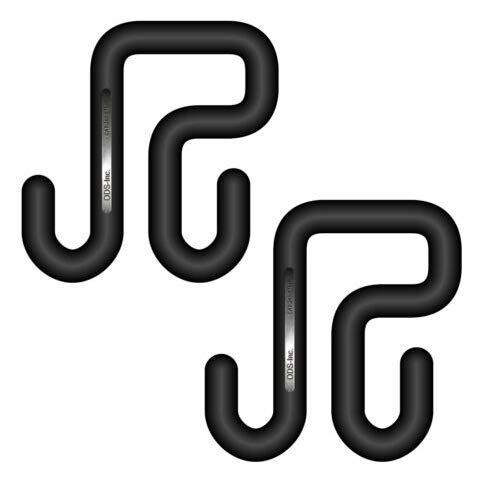 243-STNB Bucket Hooks for 3 Aerial-Bucket Lip (Includes 2 Hooks)