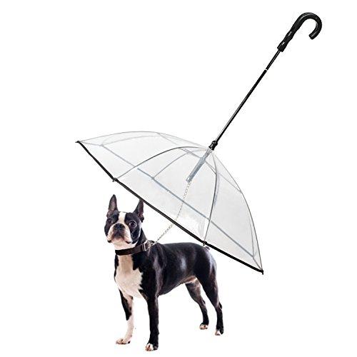 K&L Pet Dog Umbrella Pet Umbrella with Leash
