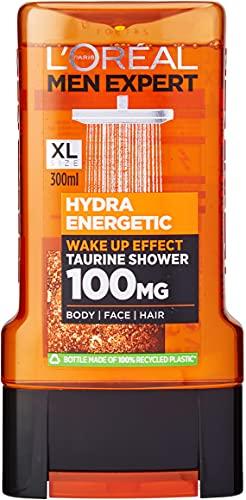 L'Oréal Paris ParisMen Shower Gel 300ml Hydra Energetic