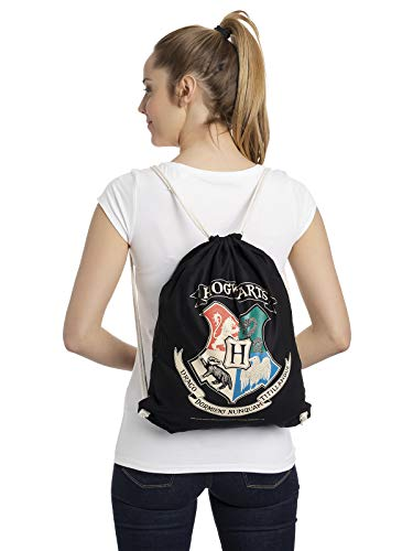 Bolso para el Gimnasio Harry Potter - Logotipo de Hogwarts [Gymbag]