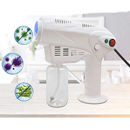 Qiutianchen Sprayer Blaue Licht Dampf Spritzpistole Haarpflege Nebel Trigger Sprayer Tragbare Zerstäubung Sprühgerät für Büro Home 110V-240V