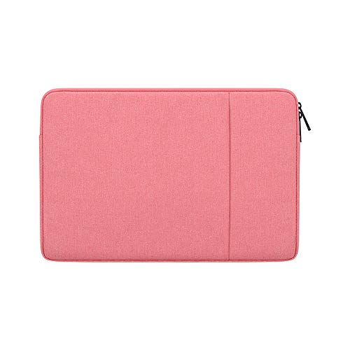 KOMI 14-15.4 Inch Laptop Sleeve Bag Compatible with Chromebook, MacBook Pro Retina 15.4', MacBook Pro 15 Inch 2016-2019, Surface Laptop 3, Computer Waterproof Protective Case (14.1-15.4 inch, pink)
