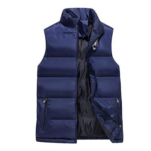 GYXYYF Mouwloos Katoen Jas Winter Warm Vest mannen Casual Vest mannen Warm Jas