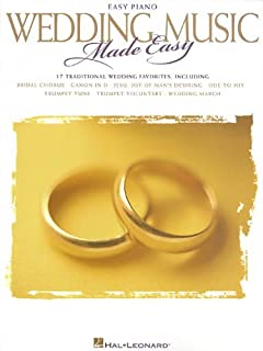 Wedding Music Made Easy: Easy Piano
