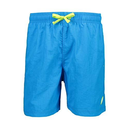 CMP - Baador Corto de bao con Bolsillos Board Shorts, Ibiza, 116 Boys