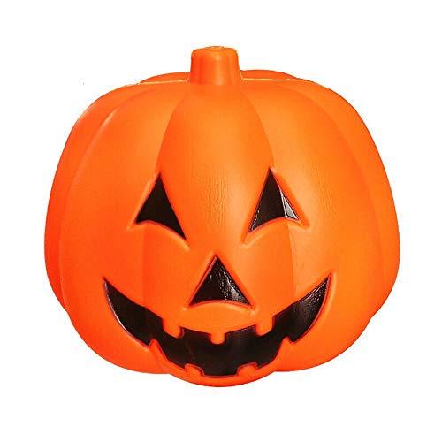 FeiGuoQiang Kürbis-Licht, Halloween Indoor Outdoor-Partei-Dekoration Requisiten Orange Kürbis-Laterne Dekoration, Zwei Größen Kürbislaterne (Color : A)