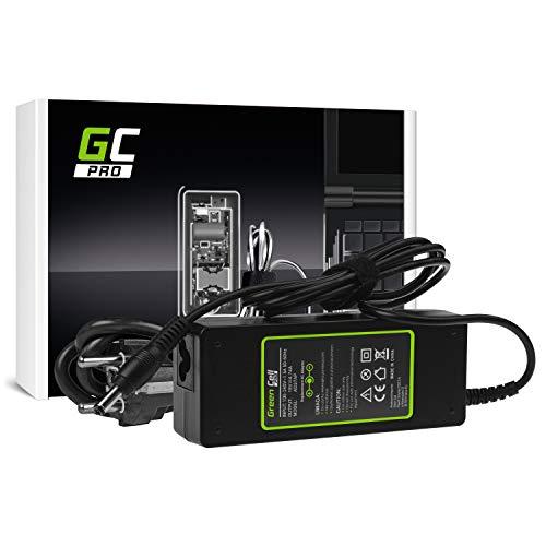 GC Pro Cargador para Portátil ASUS A52 K50IJ K52 K52F K52J K53S K53SV X52 X52J X53S X53U X54C X54 X54H Ordenador Adaptador de Corriente (19V 4.74A 90W)