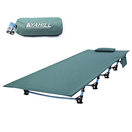 Yahill Ultralight Folding Bed Portable Cot - the new version.