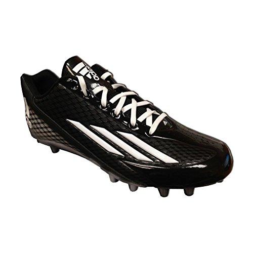 adidas - Filthyspeed Fly, niedrig Herren, Schwarz (Black/Platinum/White), 45 EU D(M)