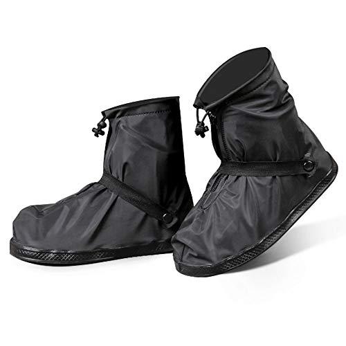 シューズカバー 防水 靴カバー 携帯可 雨 雪 泥除け 梅雨?策 レインカバー 靴の保護 滑り止め お手入れ簡単 軽量 自転車 登山 雨具 通勤通学 男女兼用 XXL