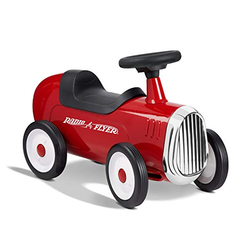 Radio Flyer Little Red Roadster, Toddler Ride on Toy, Ages 1-3 (Amazon Exclusive)