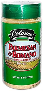 Colonna Parmesan & Romano Grated Cheese 8 oz (Case of 3)