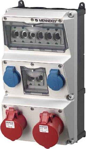 Mennekes Steckdosen-Kombination 930009 AMAXX AMAXX CEE-Steckdosen-Kombination 4015394223375