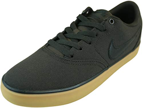 Nike SB Check Solar Cnvs, Zapatillas de Deporte Unisex Adulto, Multicolor (Velvet Brown/Black/Gum Yellow 201), 41 EU