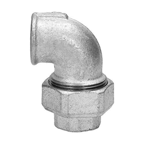 1' Sellado cónico de la unión del codo, hierro fundido maleable Racor galvanizado, rosca hembra, pieza de conexión, fundición moldeada, F
