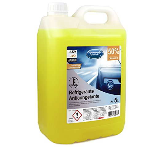 Tamar 601130005 Refrigerante/Anticongelante 50% Orgánico, 5 litros