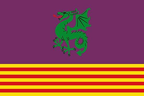 magFlags Bandera Large Santa Margarita y Monjós, Barcelona, España   Bandera Paisaje   1.35m²   90x150cm