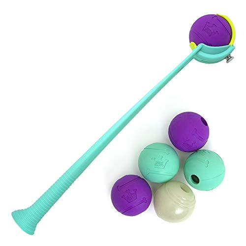 Chew King Fetch Balls Dog Toy Ball Launcher