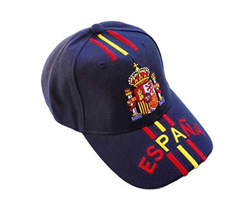 Gorra Escudo de España Mod.10 Azul