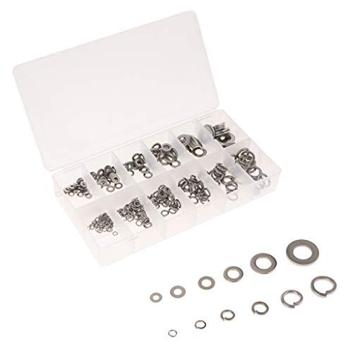 perfeclan 350Pcs Rondelles Plates Assortiment M3-M10