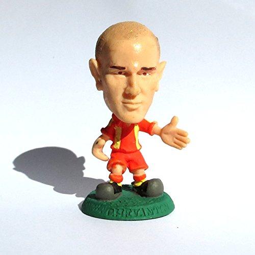 Ernesto Javier Chevanton (Lecce) Campionato Italiano di Calcio dl Serie A stagione 2003-04 Bomberini Panini serie Clubs Mini Figures Calciatori Italia Microstars