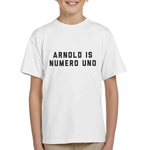 Cloud City 7 Arnold Schwarzenegger Arnold Is Numero Uno Kid's T-Shirt