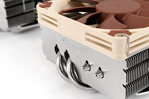 Noctua NH-L9x65, Dissipatore di calore a basso profilo di qualità premium per CPU (Marrone)
