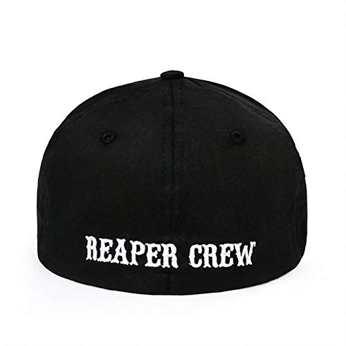 JKYJYJ Baumwolle Hüte Für Männer Frauen Snapback Ausgestattet Baseball Cap Hut Bestickt Papa