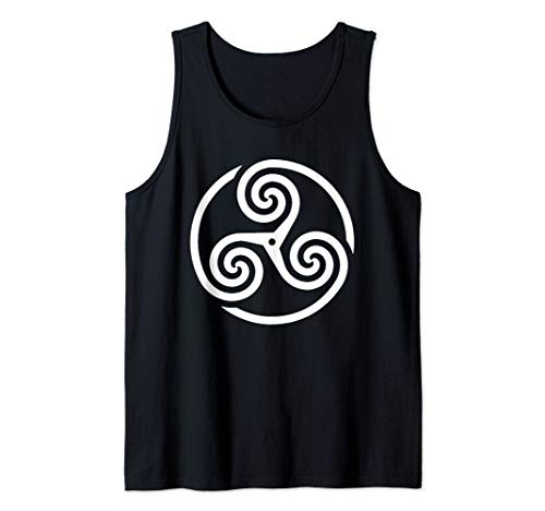 Ancient Celtic Triskelion Tank Top