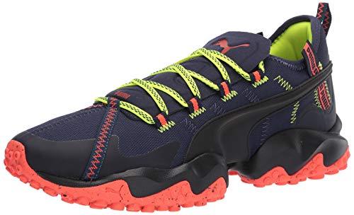 PUMA Unisex-Adult Erupt Sneaker, Peacoat-Nrgy Red, 9.5 M US