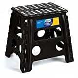 Korpai 13' Folding Step Stool for Adults and Kids Holds...