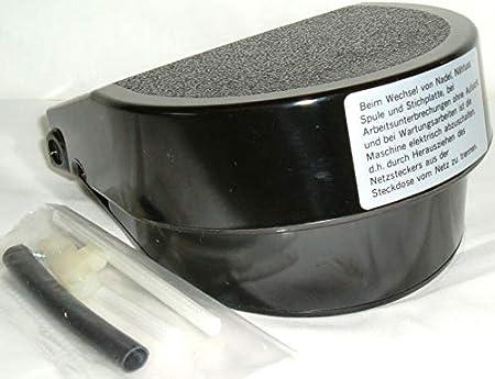 YDK Pedal de Control de pie para máquina de Coser Compatible con Brother Toyota Singer, Janome Elna BLB358