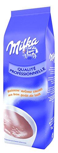 Cioccolata calda Milka al cacao in polvere 1 kg - delizioso gusto cremoso e lattiginoso del cioccolato originale Milka - ideale per distributori automatici professionali e per uso domestico