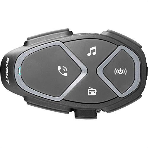 Interphone INTERPHOAVANT Bluetooth-Kommunikationssystem für Motorräder, schwarz, Single