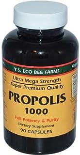 YS Organic Bee Farms Propolis -- 1000 mg - 90 Capsules