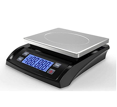 MEDITIVE Digital Kitchen Weighing Scale with White Backlight...
