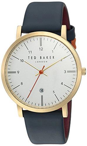 Ted Baker - Orologio da uomo'SAMUEL', al quarzo, in acciaio inossidabile e...