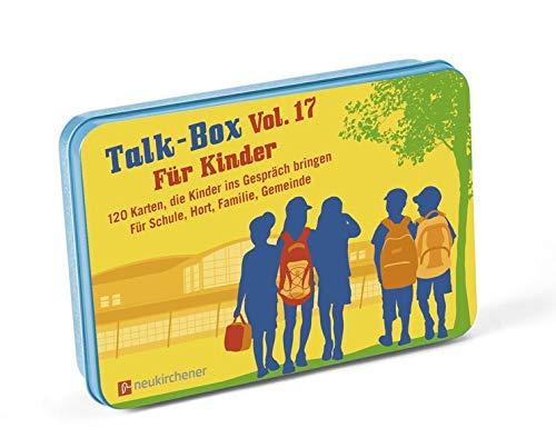 Talk-Box Vol. 17 - Für Kinder: 120 Karten, die Kinder ins Gespräch bringen - Für Schule, Hort, Familie, Gemeinde